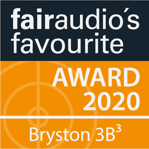 AWARD 2020 for Bryston Amplifier 3B CUBED