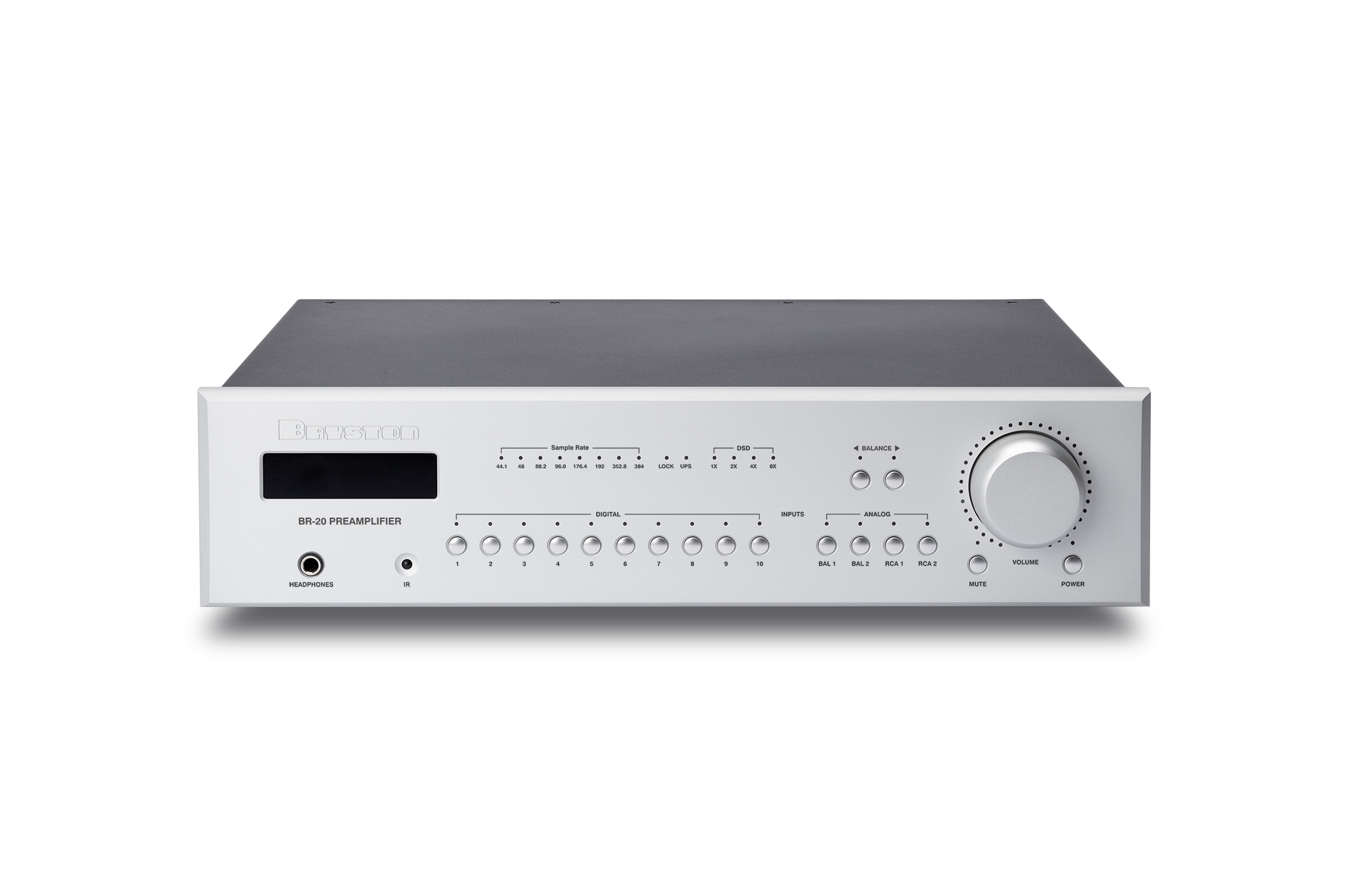 Bryston Introduces the BR-20 Preamplifier-DAC-Streamer